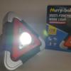 Hurry Bolt többfunkciós napelemes vészjelző lámpa és reflektor