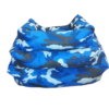 Kutyafekhely Terepmintás kék színben 50x40x12 cm