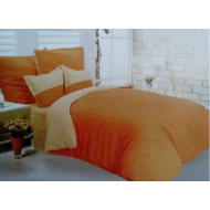 Narancs-napsárga 7-részes ágyneműgarnitúra
