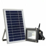 CClamp integrált napelemes LED reflektor - 10W