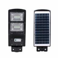 Merystyle@Intelligens mozgásérzékelős LED Solar integrált napelemes 60 W-os extra erős utcai lámpa