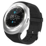 Merystyle-Y1 Smart watch android okosóra fekete színben magyar nyelvű menüvel