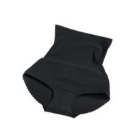 Magas derekú alakformáló push up bugyi, fekete XL - MS-174