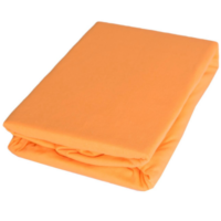 Sofy pamut gumis lepedő, 180x200 cm - Barack színben