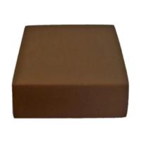 Sofy pamut gumis lepedő, 180x200 cm - Sötétbarna