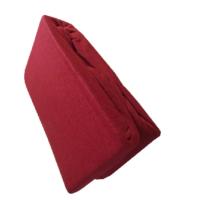 Sofy pamut gumis lepedő, 180x200 cm - Bordó színben