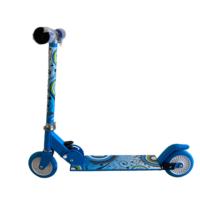 Összecsukható gyermek roller, kék színben - MS-198