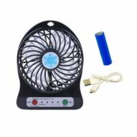 Akkumulátoros mini ventilátor - fekete