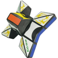 Rubik Fidget Spinner Puzzle 2 az 1-ben logikai és ügyességi játék