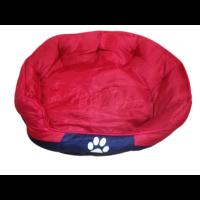 Tappancs kutyafekhely Piros színben 50x40x25 cm