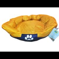 Tappancs kutyafekhely Sárga színben 60x50x25 cm