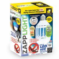 ZAPP LIGHT E27 szúnyogírtó LED izzó UV-fénnyel