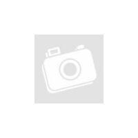 Sötét Rózsaszín 7 részes ágyneműhuzat garnitúra Fekete szívekkel