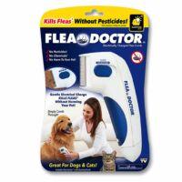 Elektromos bolhairtó fésű kutyák és macskák számára Fleadoctor