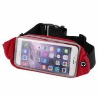 Univerzális telefontartó sportöv-piros