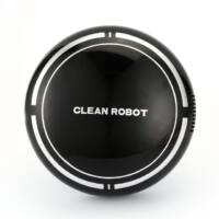 Sweep Robot automatikus padló tisztító robotporszívó - Fekete