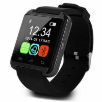 U8 Smart Watch bluetooth-os Univerzális kar óra - Magyar nyelvű menüvel - Fekete