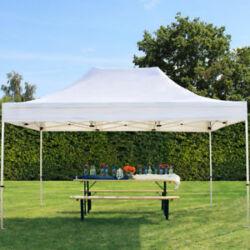 Easy Up egyszerűen felállítható kerti rendezvény pavilon 3x4,5m