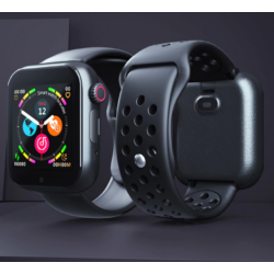 Smart Watch Phone Z6S SIM kártyás intelligens okosóra Angol menüvel -Fekete/Kék