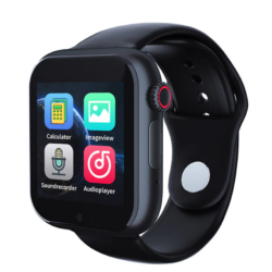 Smart Watch Phone Z6S SIM kártyás intelligens okosóra Angol menüvel -Fekete/Piros