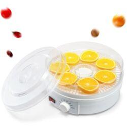 Zöldség és gyümölcs aszalógép. - 5 db tálcával