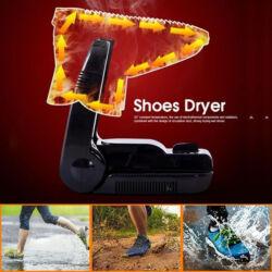 Hordozható elektromos cipőszárító.- Összecsukható és nyújtható konzollal. 200 w