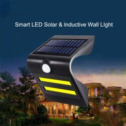 Smart Led napelemes falra szerelhető mozgásérzékelős lámpa