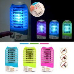 Kontakt rovarirtó lámpa 1W-os éjszakai lámpa,  kék színben.-3 db