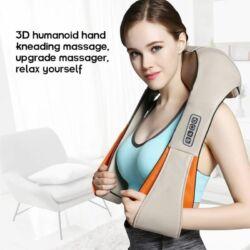 Shiatsu intenzív nyak és testmasszírozó infravörös fűtés funkcióval. Bel-Neck-C.- Merystyle