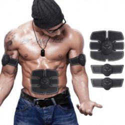 Izomstimulációs bicepsz és kockahas edző készlet