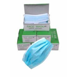 3 rétegű egészségügyi maszk. -50 db