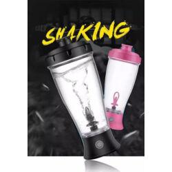 Elektromos Shaker, önkeverő bögre, hordozható palack, kb. 500-550 ml. DTM-620- zöld