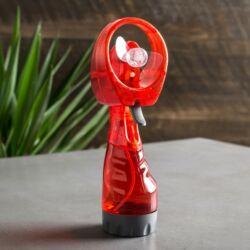 Hűsítő vízpára ventilátor - Piros színben