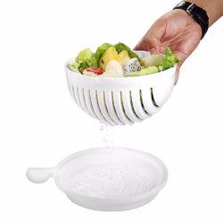 3 az 1-ben saláta szeletelő, tál és szűrő