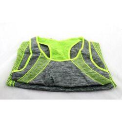 Jóga Fitness Wear karcsúsító sportruházat - zöld-szürke