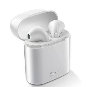 i7S TWS vezeték nélküli bluetooth headset-fülhallgató, töltőtokkal - Android/iOS