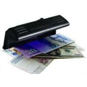 Bankjegyvizsgáló készülék UV világítással