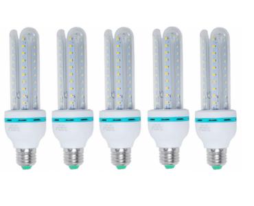 5 darab 16 Wattos LED izzó kiemelkedő energiahatékonysággal