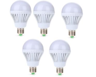 5 db-os Energiatakarékos 3W-os LED izzó