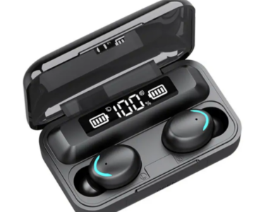 MS-155 TWS vezeték nélküli fülhallgató, töltődobozzal és digitális kijelzővel