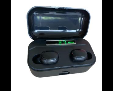G6S-TWS fülhallgató, töltődobozzal és digitális kijelzővel