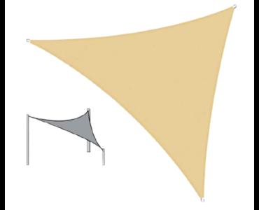 Napvitorla bézs színben - 3x3x3 méter