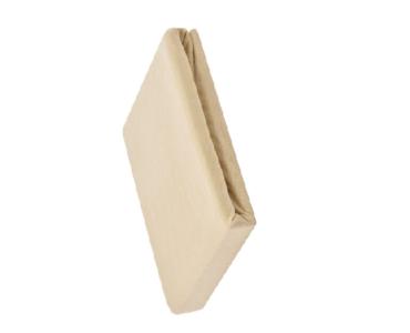 Sofy pamut gumis lepedő, 180x200 cm - Bézs színben