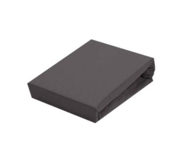 Sofy pamut gumis lepedő, 180x200 cm - Sötétszürke színben