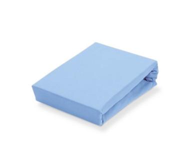 Sofy pamut gumis lepedő, 180x200 cm - Világoskék színben