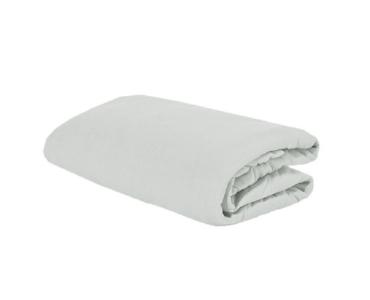 Sofy pamut gumis lepedő, 180x200 cm - Világosszürke színben