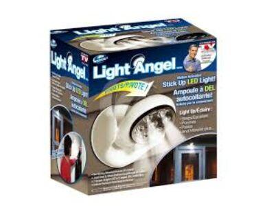 360 fokban forgatható mozgásérzékelős LED lámpa Light Angel