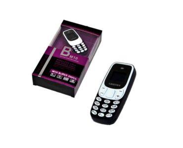 L8Star BM10 Mini kártyafüggetlen mobiltelefon - Fekete