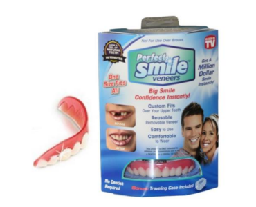 Perfect Smile Veeners fogtakaró - a tökéletes mosolyért 2 db