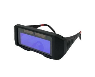 Automatikusan sötétítő hegesztő szemüveg nyakpánttal